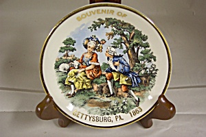 Gettysburg, PA. 1863 Souvenir Collector Plate (Image1)