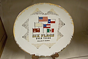 Six Flags Over Texas Plate