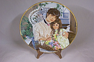 """a Cherished Time"" Collector Plate"