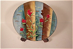 Indian Paint Brush (Flowers) Collector Plate (Image1)
