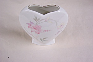 Occupied Japan Heart Shaped Vase