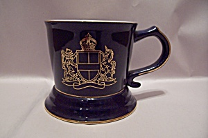 Royal London Cobalt Blue Porcelain Shaving Mug