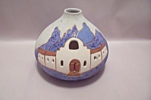 Southwestern Pueblo Style Decorative Pottery Vase (Image1)