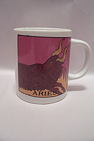 Porcelain Aries Mug