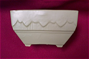 Brush Mccoy Floraline Planter/square Bowl