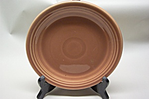 Fiesta 7 Inch Light Brown/cinnabar Plate