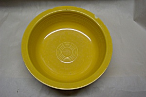 "FIESTA 8-1/2"" Yellow Vegetable/Nappy Bowl (Image1)"