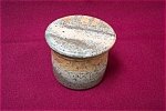 Click to view larger image of Artist Handmade Two Piece Butter Cup/Pot (Image1)