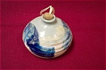 Artist Handmade Bulbous Pottery Bottle