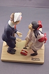 "Click to view larger image of Norman Rockwell ""First Dance"" Figurine (Image1)"