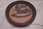 Click here to enlarge image and see more about item BG00015: Stunning Handmade Art Pottery Serving Tray