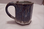 Click to view larger image of Handmade Art Pottery Mug (Image1)