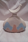 Click here to enlarge image and see more about item BG00019: Southwestern Theme Flask With Stopper