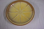 Frankoma Wagon Wheel Pattern Saucer