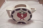 Click here to enlarge image and see more about item BG00040: Southwestern Art Clay Pitcher