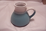 Click here to enlarge image and see more about item BG00043: Broad Base Pottery Mug