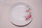 Click to view larger image of Occupied Japan Rose Pattern Saucer (Image1)