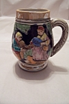 Click here to enlarge image and see more about item BG00056: Occupied Japan Ceramic Beer Stein