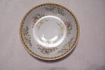 Click here to enlarge image and see more about item BG00061: Vintage Taiko Floral Pattern Porcelain Bread Plate