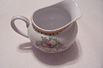 Click here to enlarge image and see more about item BG00067: Taiko Floral Pattern Porcelain Creamer