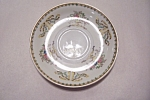 Click here to enlarge image and see more about item BG00068: Taiko Floral Pattern Porcelain Saucer