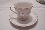 Click here to enlarge image and see more about item BG00078: Noritake Cervantes China Cup & Saucer