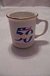 Click here to enlarge image and see more about item BG00095: 50 Golden Years Porcelain Mug