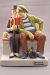 "Click to view larger image of Norman Rockwell ""The Interloper"" Figurine (Image1)"