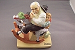 Click here to enlarge image and see more about item BG00102: Norman Rockwell Gramps At The Reins Figurine