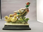 Click to view larger image of Ringneck Pheasant Porcelian Figurine (Image1)