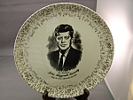 Click here to enlarge image and see more about item BG00123: John Fitzgerald Kennedy Collector Plate