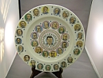 Click here to enlarge image and see more about item BG00124: Presidential Collector Plate