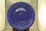 Click here to enlarge image and see more about item BG00133: Vintage Fiesta Cobalt Blue Dinner Plate