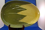 Click here to enlarge image and see more about item BG00151: Shawnee Corn Ware Platter
