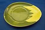 Click here to enlarge image and see more about item BG00156: Shawnee Corn Ware Saucer