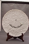 Click here to enlarge image and see more about item BG00176: 25th Wedding Anniversary Collector Plate