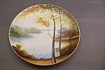Click to view larger image of Handpainted Occupied Japan Collector Plate (Image1)