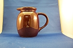 Vintage Brown Pottery Pitcher