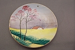 Occupied Japan Hand Painted Miniature Collector Plate