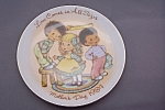 Click here to enlarge image and see more about item BG00256: Avon Mother's Day 1984 Collector Plate