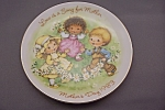 Click here to enlarge image and see more about item BG00257: Avon Mother's Day 1983 Collector Plate