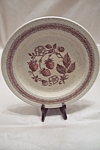 Click here to enlarge image and see more about item BG00260: Wild Strawberry Dinner Plate