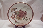 Click here to enlarge image and see more about item BG00272: Holiday China Oriental Motif Art Collector Plate