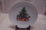 Click here to enlarge image and see more about item BG00273: Papel Christmas Collector Plate