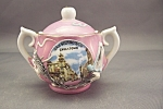 Click here to enlarge image and see more about item BG00294: Occupied Japan Dragonware Sugar Bowl
