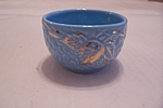 Click here to enlarge image and see more about item BG00327: Wade Golden Turquoise Small Bowl