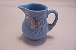 Click here to enlarge image and see more about item BG00328: Wade Golden Turquoise Miniature Pitcher