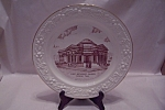 Click here to enlarge image and see more about item BG00334: First Methodist Church, Coleman, TX Collector Plate