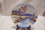 Click here to enlarge image and see more about item BG00340: Occupied Japan Handpainted Collector Plate