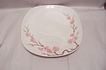Click here to enlarge image and see more about item BG00351: Poppy Trail Peach Blossom Pattern Dinner Plate